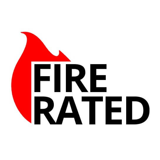 Fire Rated logo