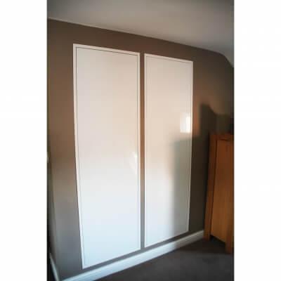Metal Door Closed