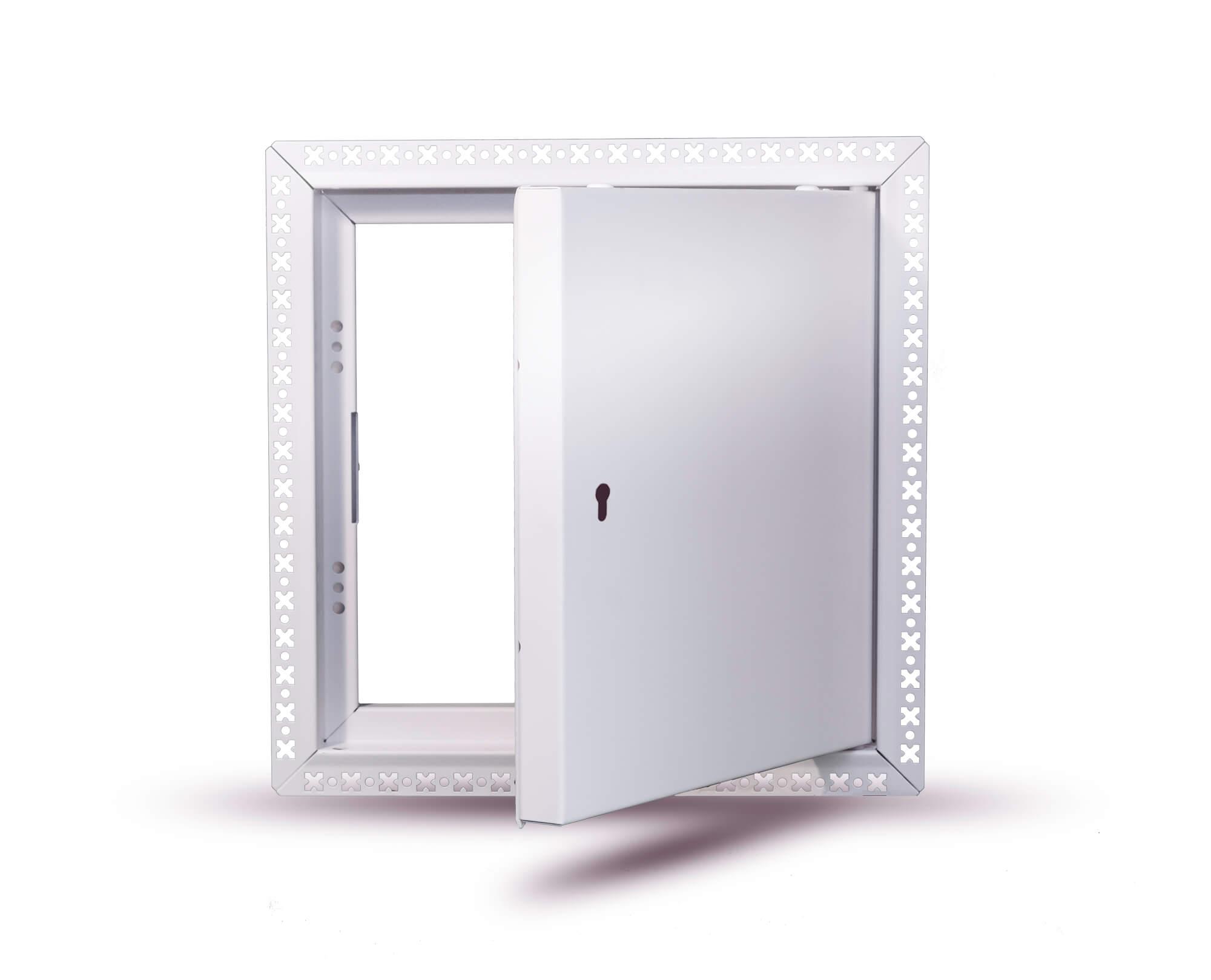 Premium Metal Door BF Euro Lock Open