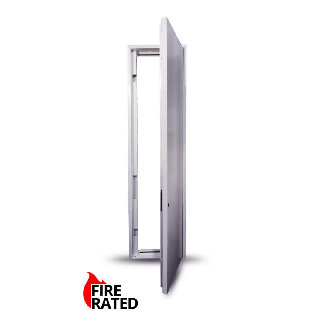 2100 x 900 mm Riser Door Single Metal Door Picture Frame 3 Point ...