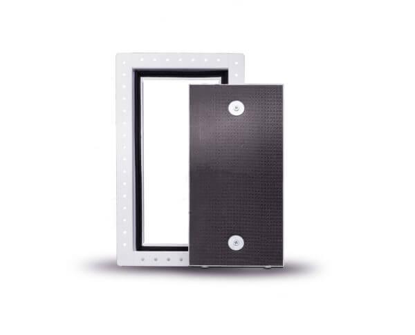Lift off tile door
