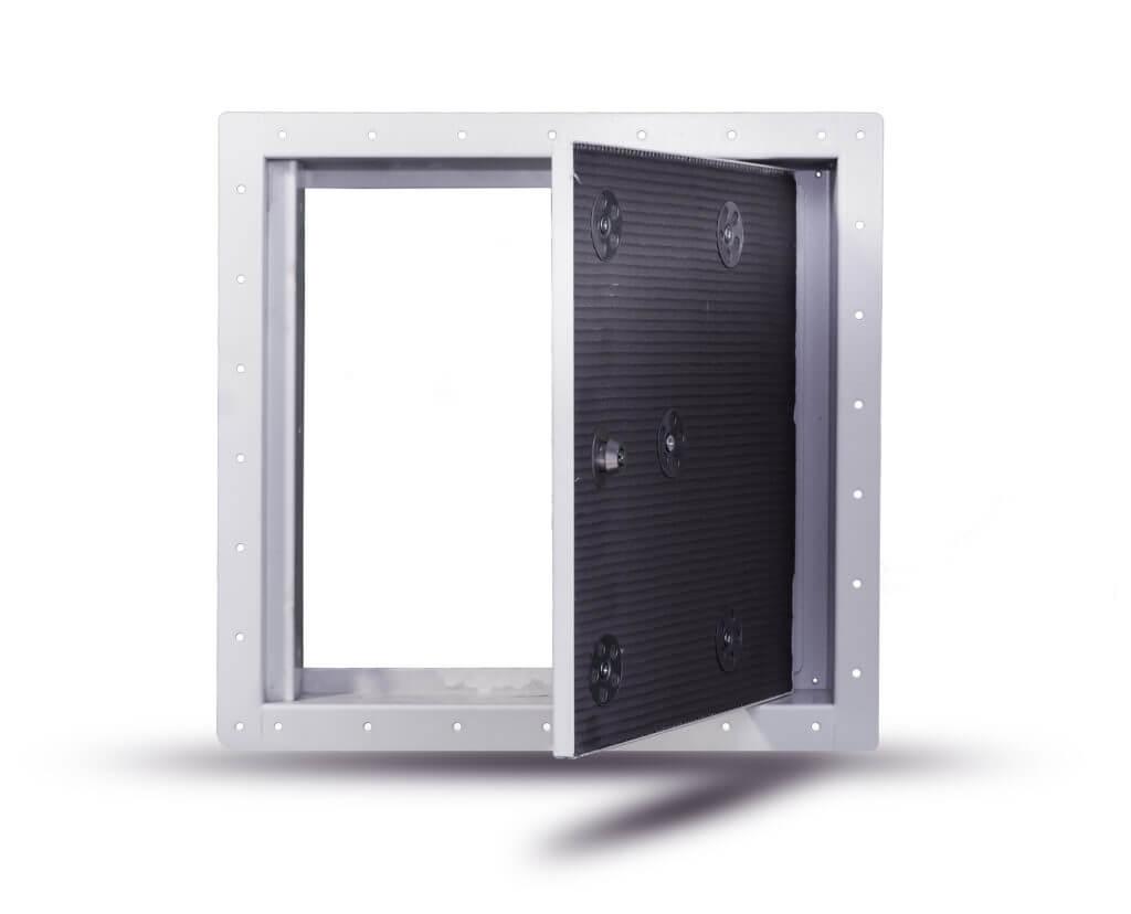 Tile door RPT open