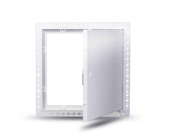 Metal Door beaded frame BL open