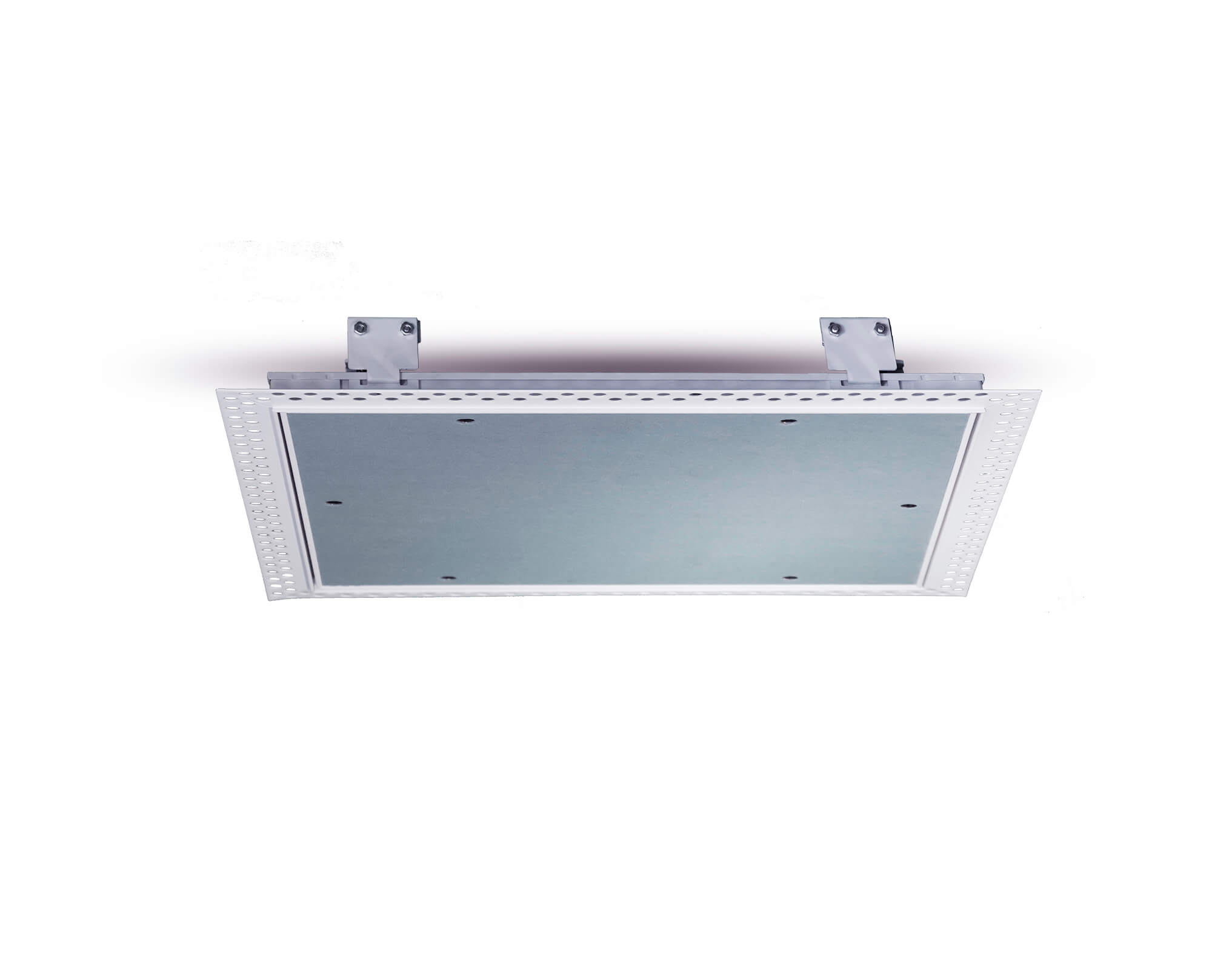 Value Plasterboard beaded frame touch catch side view