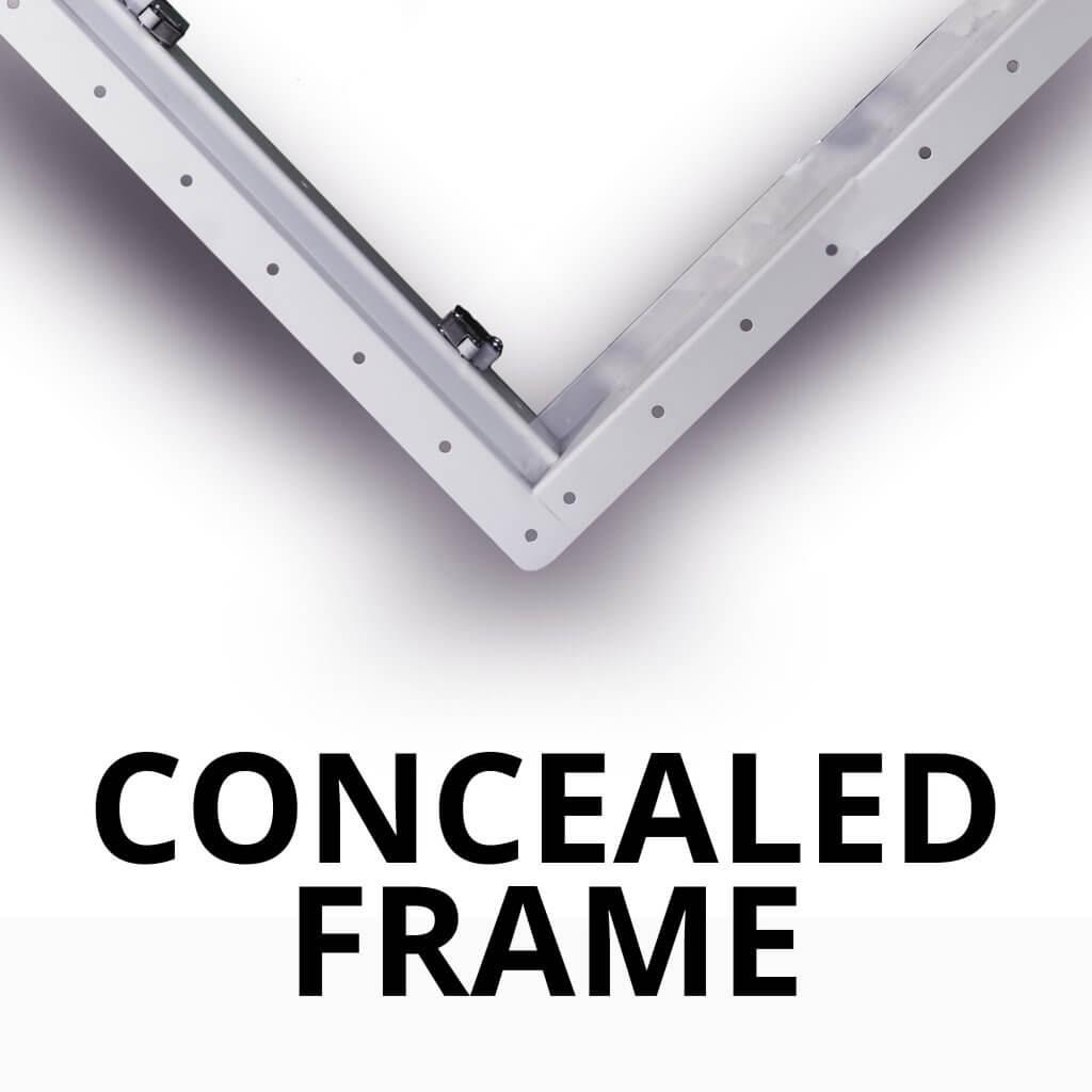 Concealed-Frame