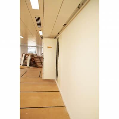Riser Door open angle