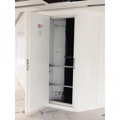 Riser Doors Single Open