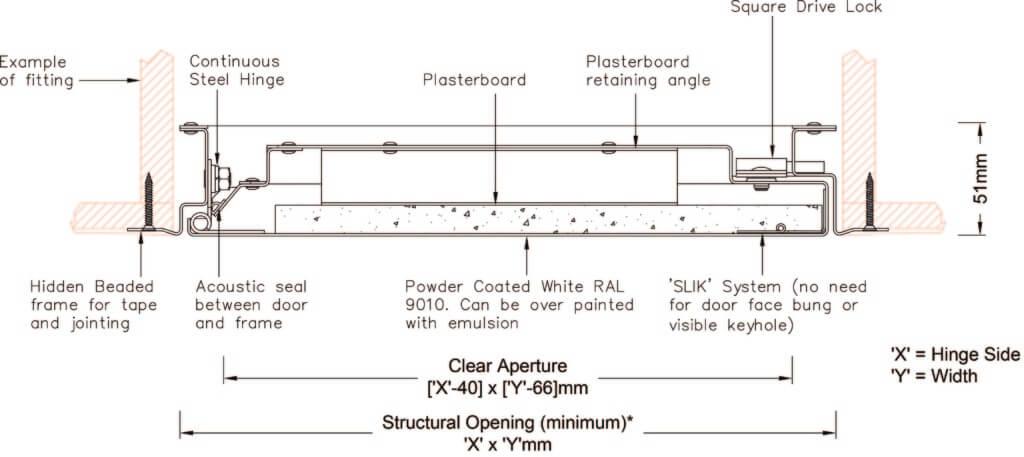 Premium-Acoustic-Panel drawing