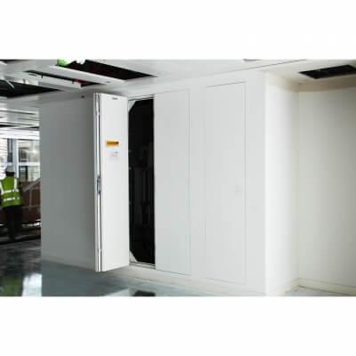 Riser Doors Situ left door open