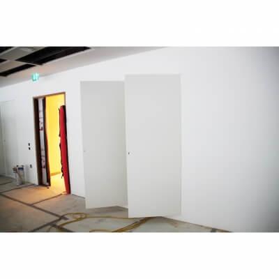 Riser Doors double set door open
