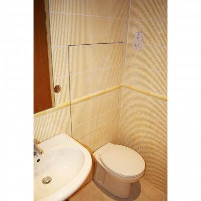 Tile Door Bathroom