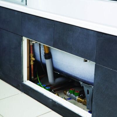Lift off Tile door opening