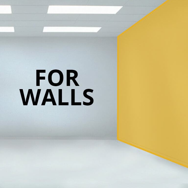 For Walls