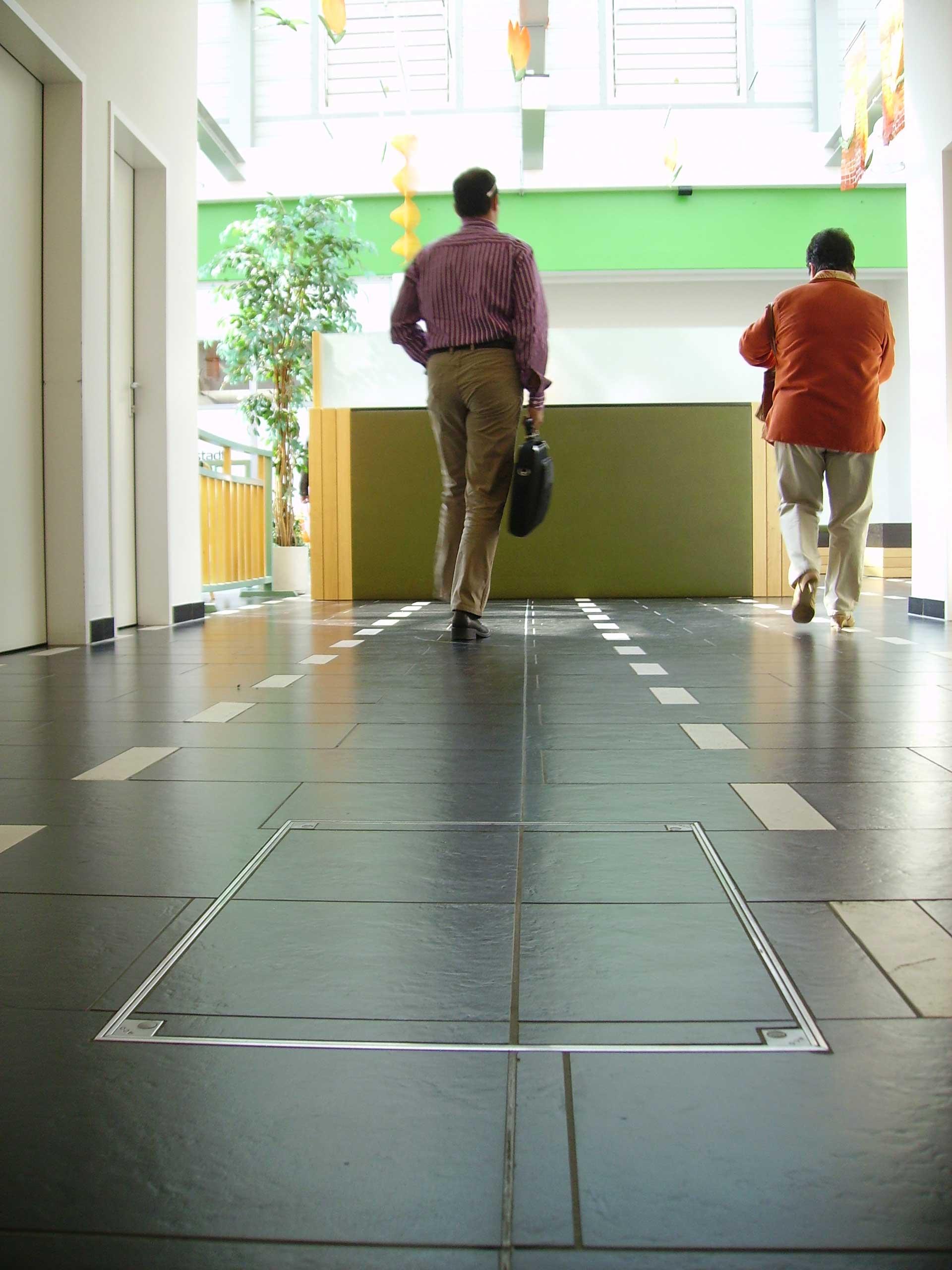 Floor Door-Tiled-Floor-Shopping-Centre