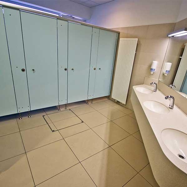 Floor Door-Tiled-Floor-Toilets